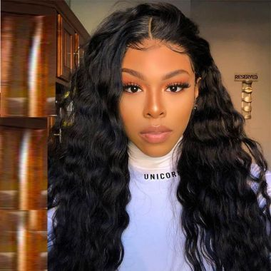 Undetectable HD Film Lace Closure Wig 5x5 Blow Out Loose Curl