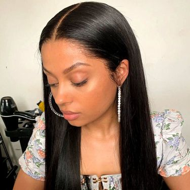 Glueless Lace Front Wig 180% Density 13*6 Pre-Bleached Knots