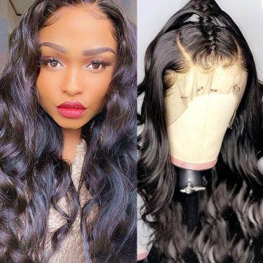 360 Lace Wig Loose Deep 150% Density Pre-plucked Virgin Human Hair