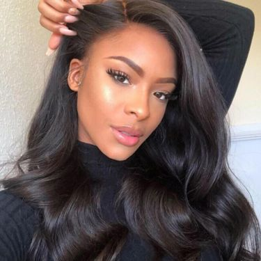 Blow Out Royal Weavy Best Virgin Hair 200% Density 13*4 Lace Front Wigs