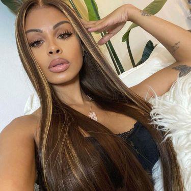 Highlight Blonde Brazilian Hair 150% Density 360 Wig
