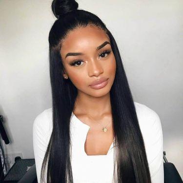 360 Lace Wig Straight 150% Density Virgin Human Hair