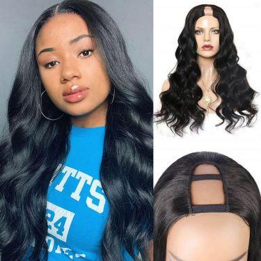 Loose Wave U-Part Wig Undetectable Human Brazilian Hair Wig
