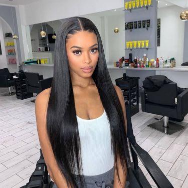 Straight Brazilian Virgin Hair 150% Density 360 Lace Wig