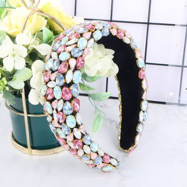 IDefine Emerald Diamond Colorful Headband