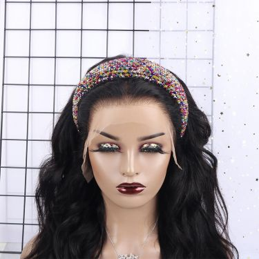 IDefine Luxury Diamond Colorful Headband