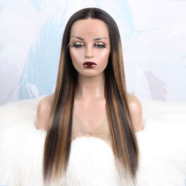 Glueless 13X5.5 T Part Lace Wig 180% Density Human Hair Wig