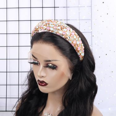 IDefine Sapphire Diamond Colorful Headband