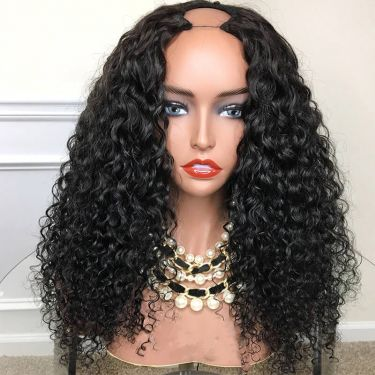 Posh Curl Affordable 150% Density U-Part Wig