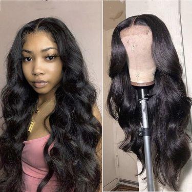 High Density Pre Bleached 5x5 Hd Lace Closure Wig 100% Human Hair