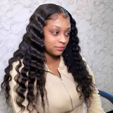 5x5 Undetectable Hd Lace Closure Wig Tropical Deep Wave 200% Density
