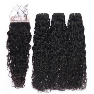 3 Bundles Natural Wave Human Virgin Hair