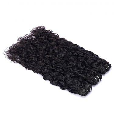 3 Bundles With Frontal Natural Wave Human Virgin Hair