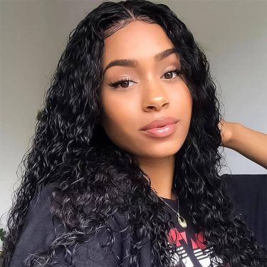 360 Lace Wig Exotic Curly 150% Density Pre-plucked Invisible