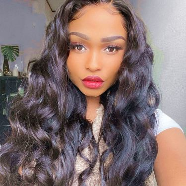 360 Lace Wig Loose Deep 150% Density Pre-plucked Virgin Human Hair