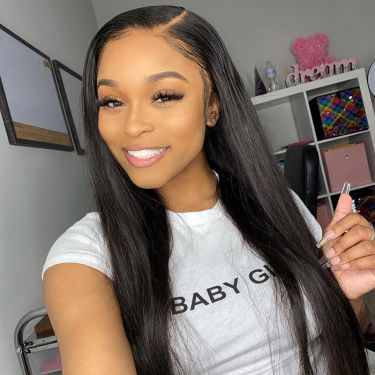 Quick & Easy Install Affordable 150% Density U-Part Straight Wig