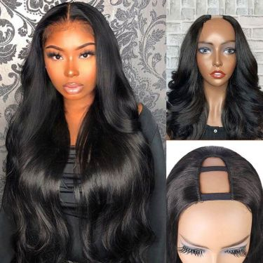 IDefine Blow Out Royal Wave U-Part Wig Human Hair Hair Wig