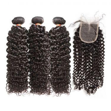 3 Bundles Italy Curly Wave Human Virgin Hair