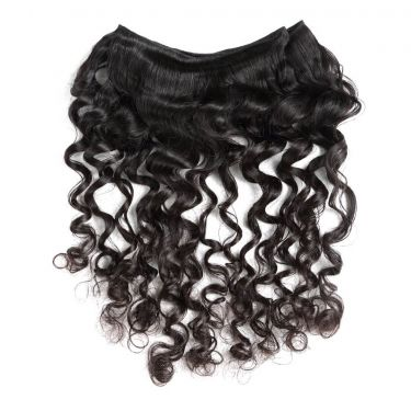 3 Bundles With Closure Loose Deep Wave Human Virgin Hair