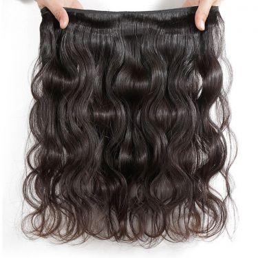 3 Bundles With Frontal Body Wave Human Virgin Hair